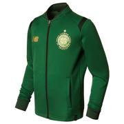 NB CFC Elite Training Junior Walk Out Jacket, Eden