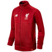 NB LFC FC Elite Training Junior Walk Out Jacket, Red Pepper