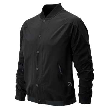 New Balance J.Crew Sport Track Coat, Black