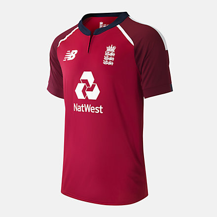 New Balance ECB T20 SS Tee Replica Man, CMT0032TRE image number null