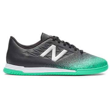 New Balance Furon v5 Dispatch JNR IN, Neon Emerald with Black & Silver