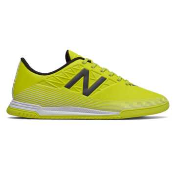 New Balance Furon v5 Dispatch JNR IN, Sulphur with Phantom & White