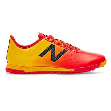 New Balance Junior Furon v4 Dispatch TF, Flame with Aztec Gold