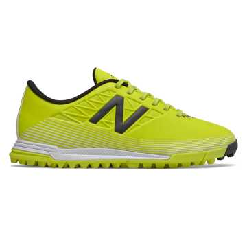 New Balance Furon v5 Dispatch JNR TF, Sulphur with Phantom & White
