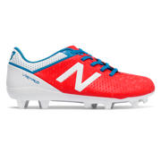 NB Junior Visaro Control FG, Atomic with White & Barracuda