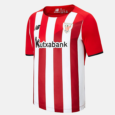 NB Athletic Club Home Junior Short Sleeve Jersey, JT130009HME image number null