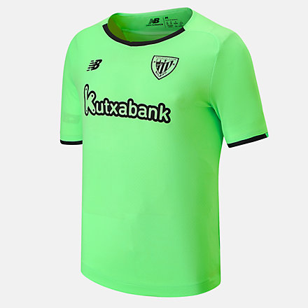 NB Athletic Club Away Junior Short Sleeve Jersey, JT130027AWY image number null
