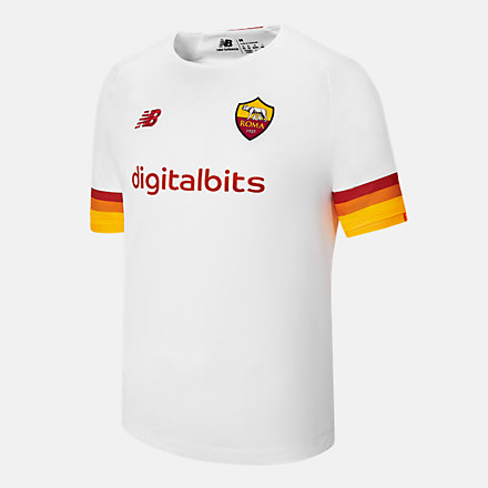 New Balance AS Roma Away Junior Short Sleeve Jersey, JT130216AWY image number null