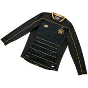 NB Celtic Jr Away Long Sleeve Shirt, Black