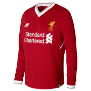 NB LFC Home Junior Long Sleeve Shirt , Red Pepper