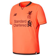 New Balance LFC 3rd Junior Short Sleeve Jersey, Bold Citrus