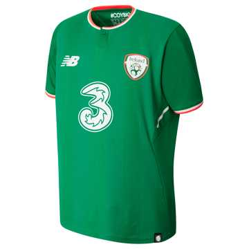 New Balance FA Ireland Junior Home SS Jersey, Jolly Green
