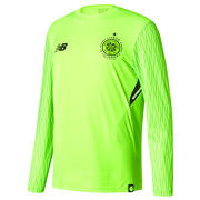 NB CFC Home Junior GK Long Sleeve Shirt, Toxic