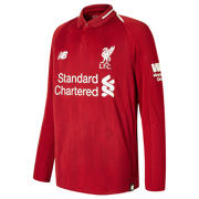 NB LFC Home Junior Long Sleeve Jersey, Red Pepper