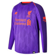 NB LFC Away Junior Long Sleeve Jersey, Deep Violet