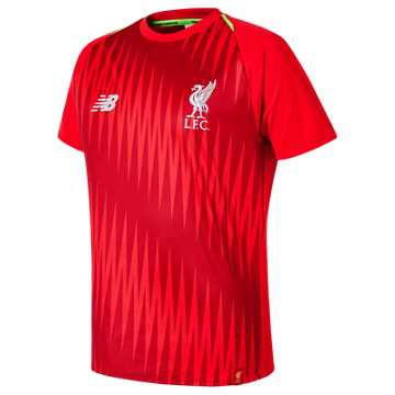 New Balance Liverpool FC Elite Training Junior Matchday Jersey, Racing Red
