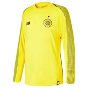 NB Celtic FC Home Junior GK Long Sleeve Jersey - No Sponsor, Viper Yellow