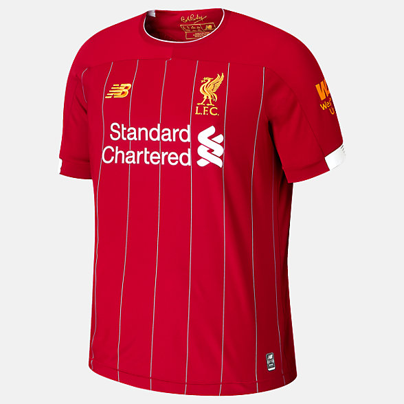 NB Liverpool FC Home Junior Short Sleeve Jersey, JT930000HME