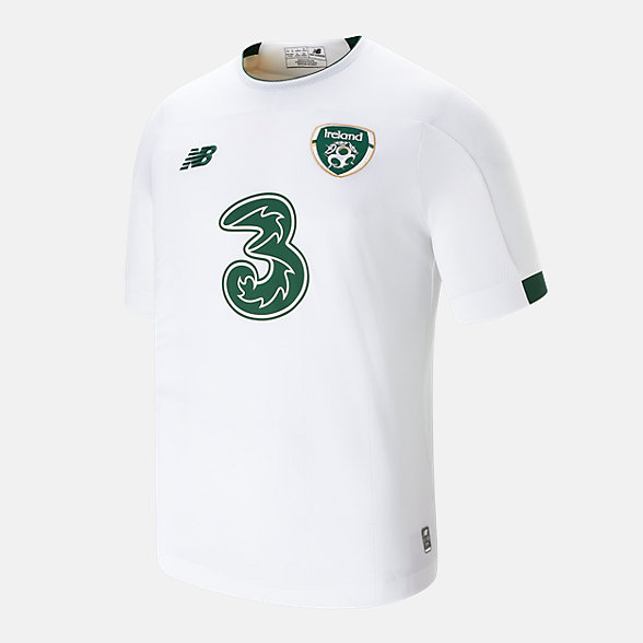 NB FA Ireland Away Junior Short Sleeve Jersey, JT930330AWY