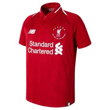 New Balance LFC 6 Times 18/19 Home SS JNR Jersey, Team Red