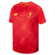 NB LFC 6 Times JNR Lightweight Tee, Red Pepper