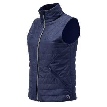 New Balance J.Crew Quilted Vest, Navy