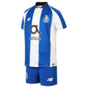 NB FC Porto Home Junior Kit - Set, White with Blue