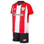 NB Athletic Club Home Junior Kit - Set, Racing Red