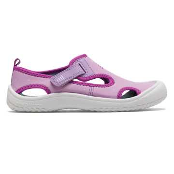 New Balance Cruiser Sandal, Pink with White & Purple
