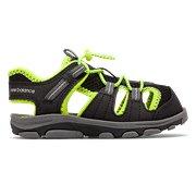 7baefa01351a4 New Balance Adirondack Sandal, Black with Lime