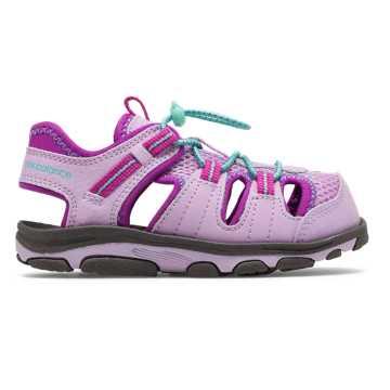 New Balance Adirondack Sandal, Pink with Purple