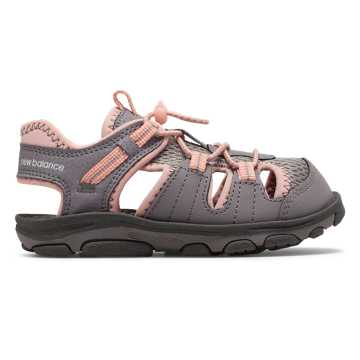 New Balance Adirondack Sandal, Pink with Grey