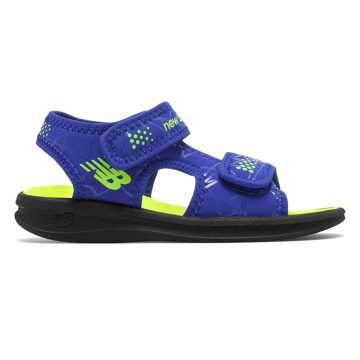 New Balance Sport Sandal, Blue with Lime