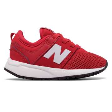 New Balance 247 Classic, Red with White