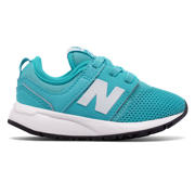 NB 247 Classic, Teal with White