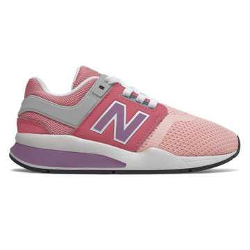 New Balance 247系列儿童休闲运动鞋, 喜马拉雅粉