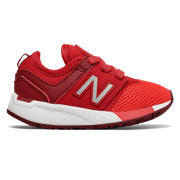 NB 247 Sport, Red with Silver