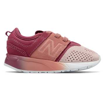 New Balance Suede 247, Dusted Peach with Sunrise Glo