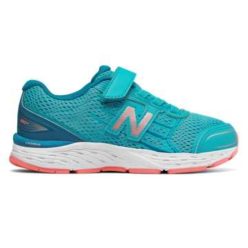 New Balance Hook and Loop 680v5, Ozone with Fiji