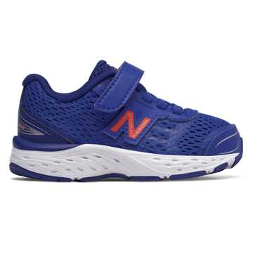 New Balance Hook and Loop 680v5, Pacific with Dynamite