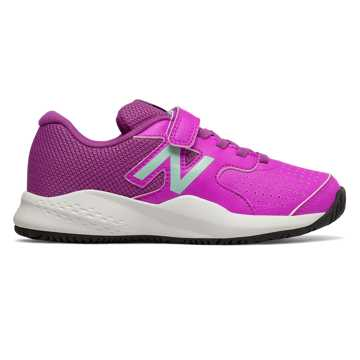 New Balance Hook and Loop 696v3, Voltage Violet with Light Reef