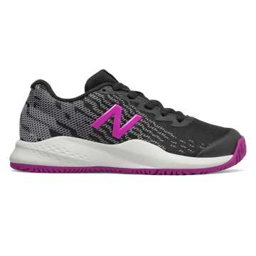 New Balance New Balance 996v3, Black with Voltage Violet