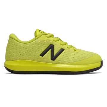 New Balance KC996v4, Sulphur Yellow with Lemon Slush & Black