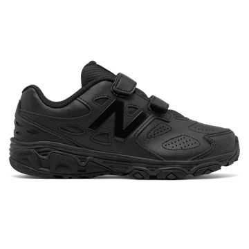 New Balance Hook and Loop 680v3, Black with Black Caviar