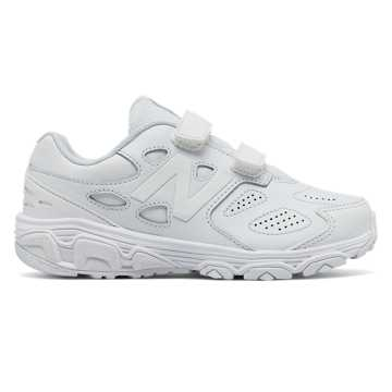 New Balance Hook and Loop 680v3, White