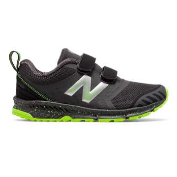 New Balance Hook and Loop FuelCore NITREL, Black with Energy Lime & Grey