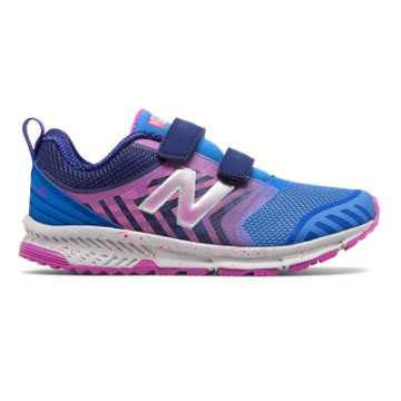 New Balance Hook and Loop FuelCore NITREL, Royal Blue with Pink