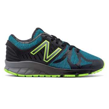 New Balance Electric Rainbow 200, Deep Ozone Blue with Black & Lime Glo