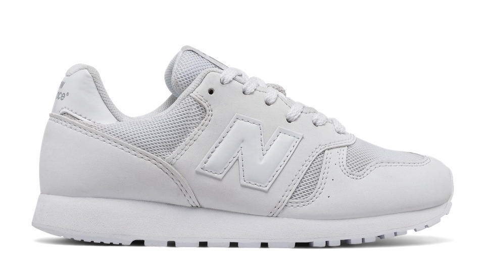 new balance white. nb new balance 373, white