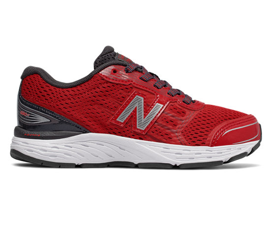 New Balance 680v5 Negro | Zapatillas Mujer